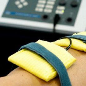 Elektrotherapiephysiotherapie